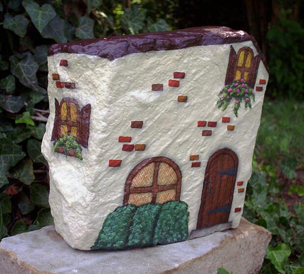 домики из камней 7