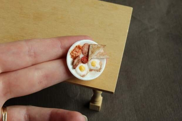 Невероятно реалистичные крошечные скульптуры еды, которые заставят вас почувствовать голод