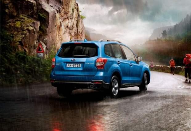 Subaru объявила цены на обновленный Forester