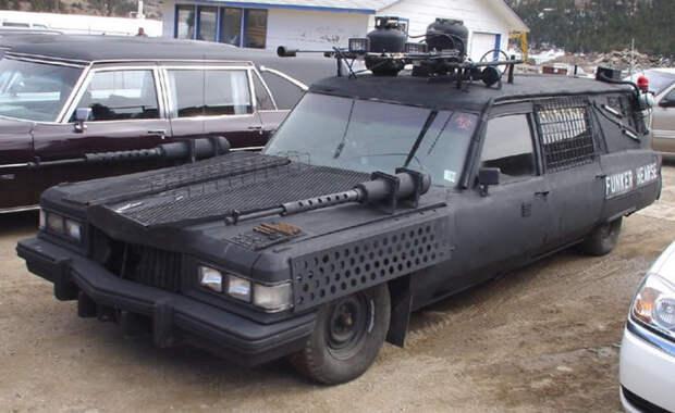 Автомобиль для зомби-апокалипсиса
