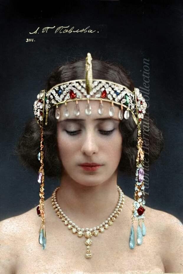 Анна Павлова, 1910 год
