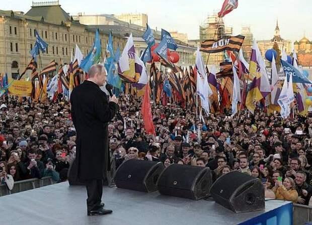 Народ в РФ не должен сметь свое суждение иметь?
