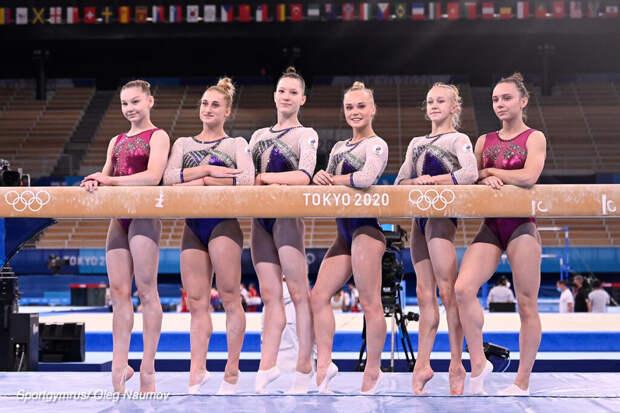 Российские гимнастки впервые победили в командном турнире на ОИ