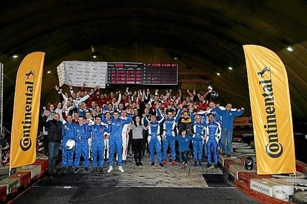 Коллективный портрет всех участников 13 команд «Формулы «За рулем» - 2015