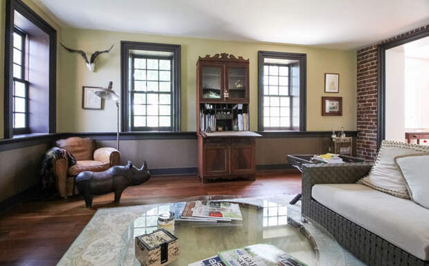 Семейная пара реконструировала дом в романтическом стиле Джейн Остин