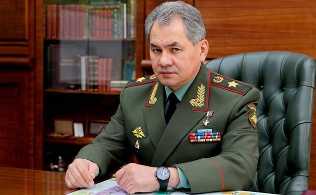 Шойгу заявил, что ВС РФ выполнили все задачи за год