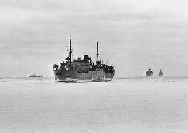 Деятельность тыла Северного флота по обеспечению союзных конвоев