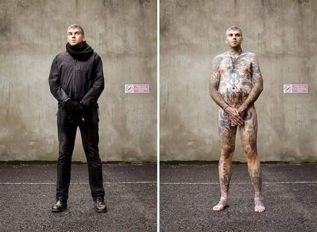 Что скрывает одежда: необычный проект Алана Поудрилла