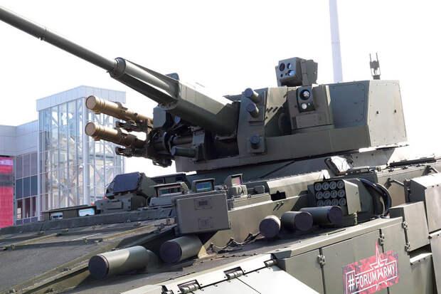 Боевой модуль с 57-мм пушкой на БМП Т-15. Фото: Nickel nitride / wikimedia.org