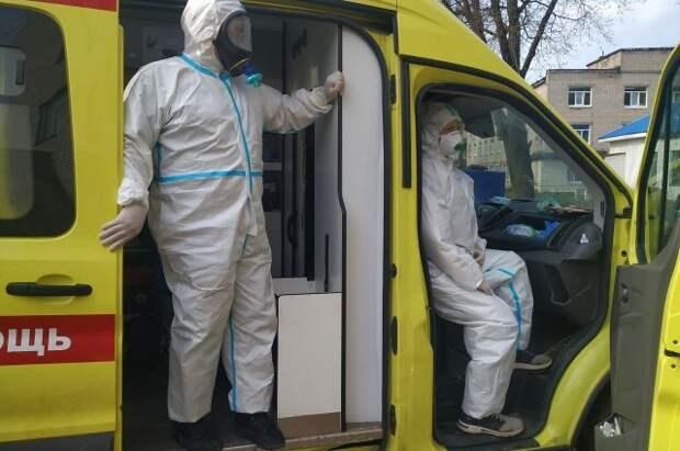 В России за сутки выявили 8 489 случаев COVID-19