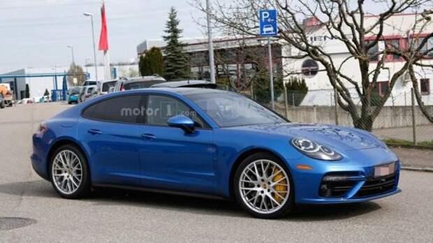 Porsche Panamera перестали бояться людей
