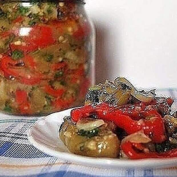 Рецепт – закуска из баклажан по-грузински