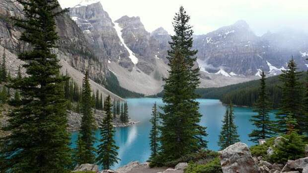 Озеро Морейн (Канада) (1)