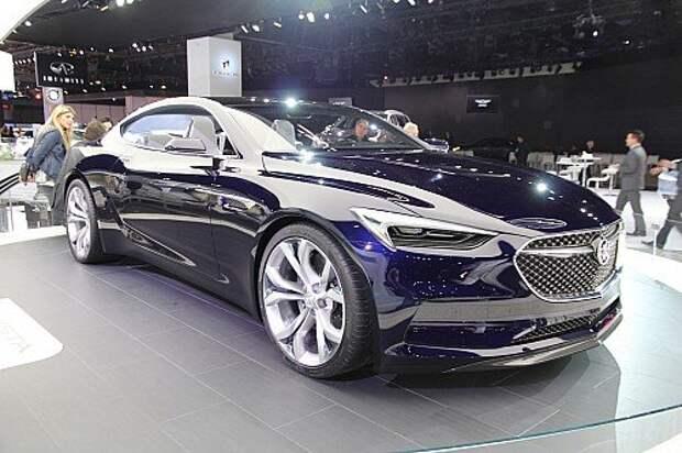 Buick вспомнил об американских корнях (ФОТО)