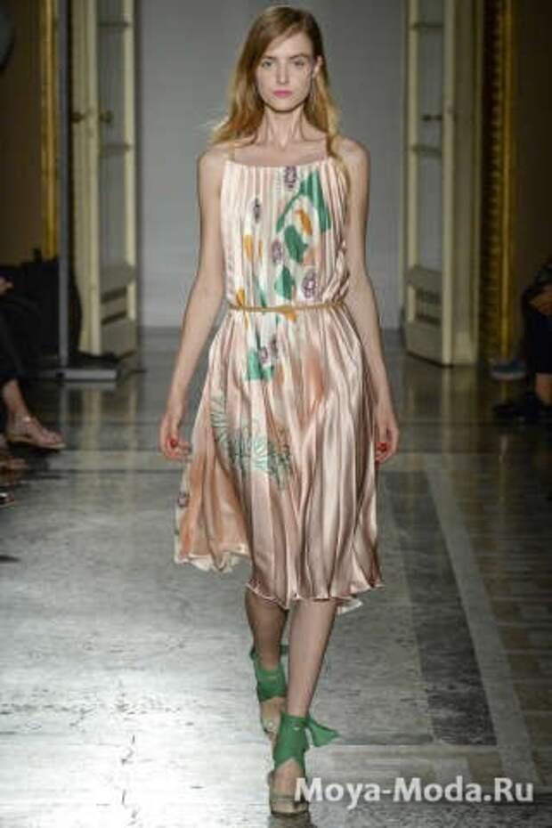 Модные сарафаны весна-лето 2015 Aquilano Rimondi