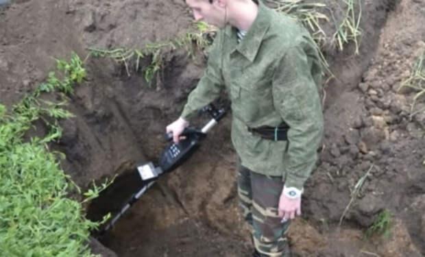 Тайник Вермахта с оружием: клад в земле ждал своей минуты 70 долгих лет