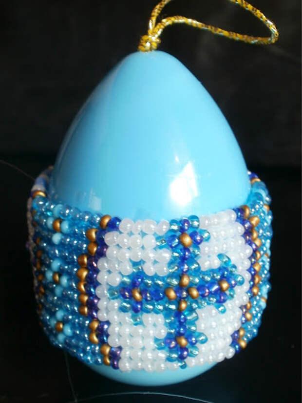 Одеваем пояс на заготовку яйца