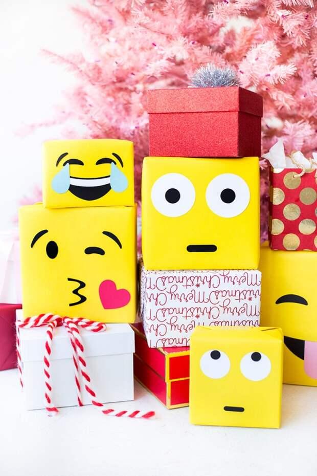 Подарки - эмодзи (Diy)
