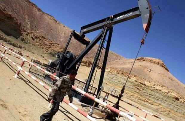 Ливия добыча нефти