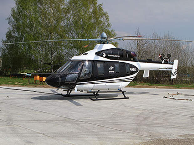 Для названия вертолету подбирали звучное, короткое и авиационное слово