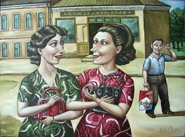 AngelaJerich22 Путешествие в СССР: картины художницы Анжелы Джерих
