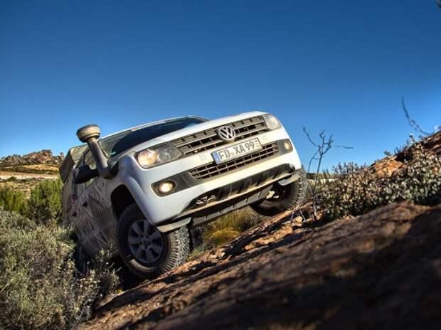 На пикапе VW Amarok по ЮАР и Намибии: в желтой жаркой Африке