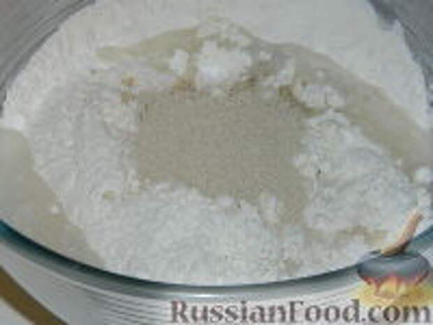 Фото приготовления рецепта: Лангош - венгерская лепешка - шаг №2