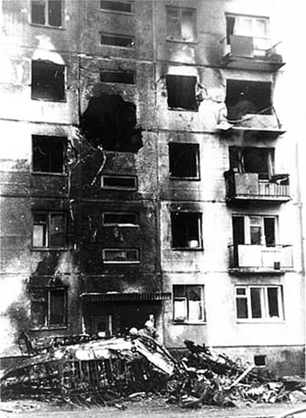 Таран жилого дома на Ан-2. 26 сентября 1976 года