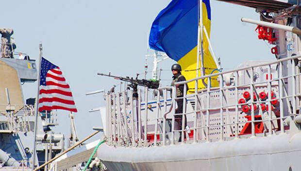 Флот США привез высадившийся на Украине десант НАТО