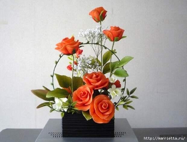 Розы из капрона. Красивые идеи и мастер-класс (46) (544x415, 127Kb)