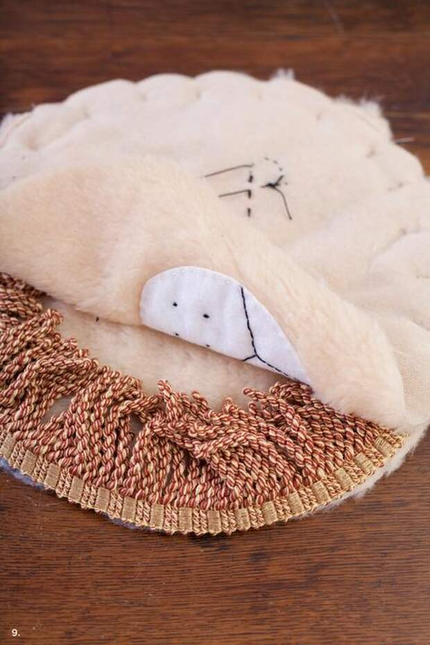 Как пошить коврик