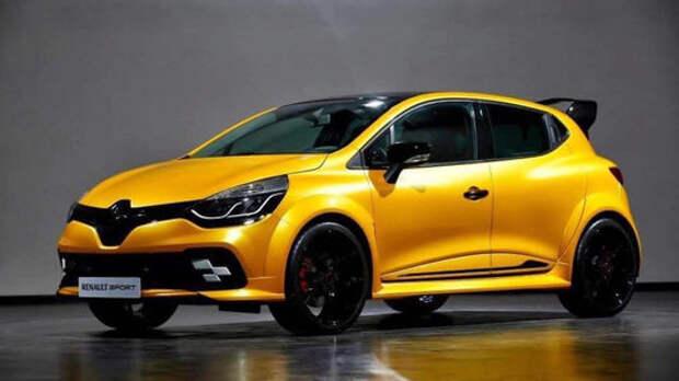 Новый Renault Clio RS будет карать и покорять