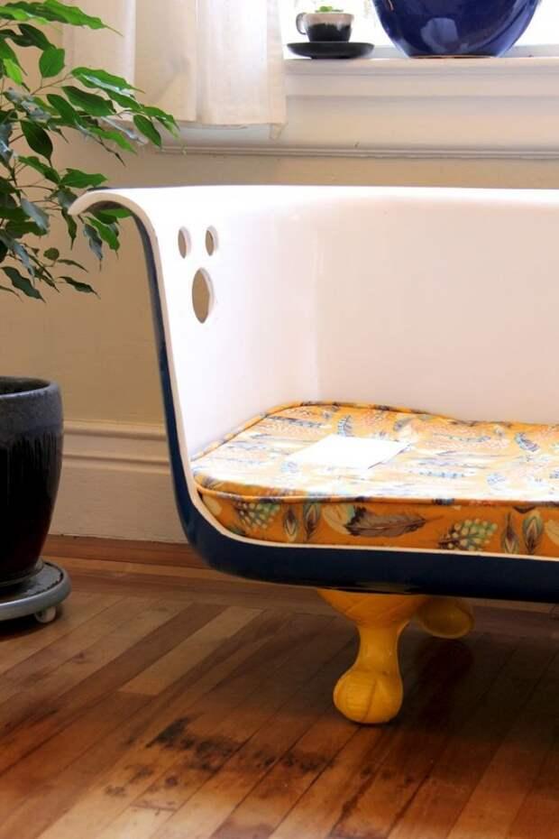 диван из ванны