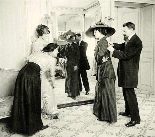 Как это было: ателье начала XX века