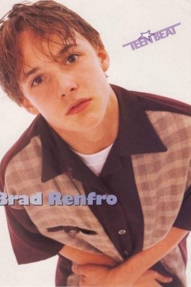 9. Брэд Ренфро 90-е, Популярность, актеры, звезды, парни, певцы, топ, фото