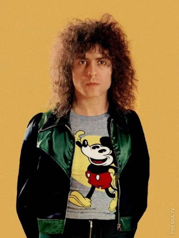 Винтажные фотографии рок-звезд в футболках с Микки-Маусом