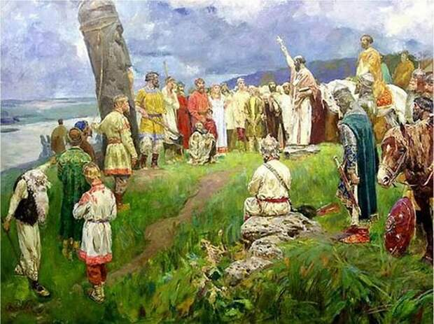 ОГНЕМ И МЕЧОМ? Миф неоязычников о кровавом крещении Руси
