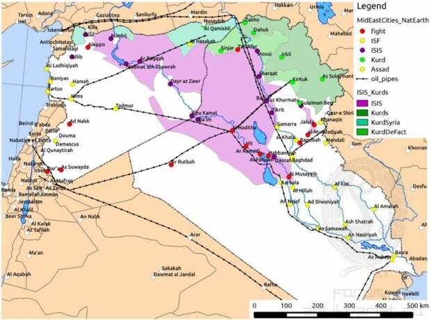 Жажда нефти, жажда газа: постосманский синдром