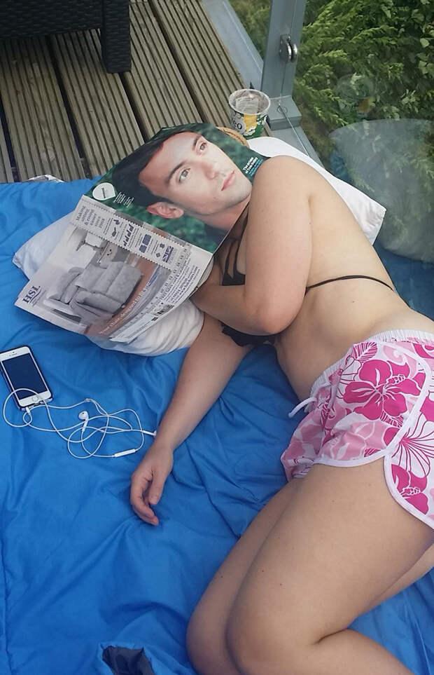 24. Уснула под журналом момент, фотография
