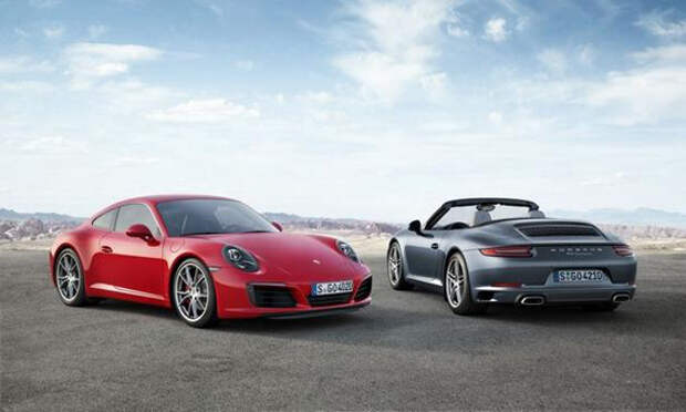 Porsche добавляет турбонаддув, чтобы сделать 911 более зеленым [Фотогалерея]