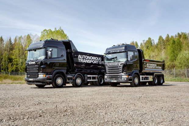 Scania разрабатывает самоуправляемые грузовики