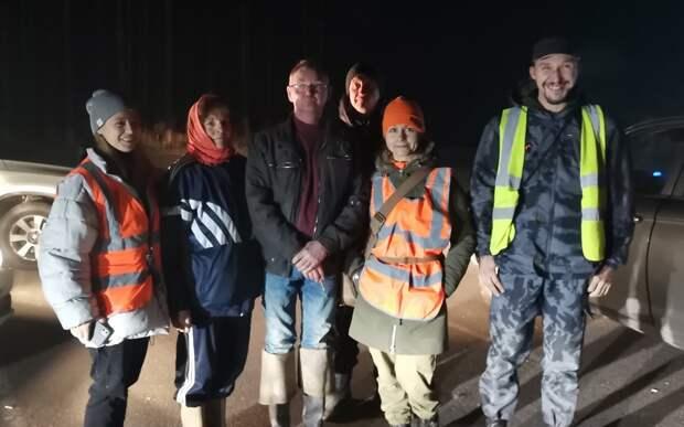 Более 20 рязанских поисковиков искали этой ночью двух грибников
