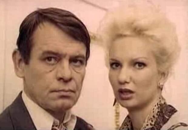 Валерий Кравченко и Ольга Беляева в фильме *Все будет хорошо*, 1995 | Фото: kino-teatr.ru