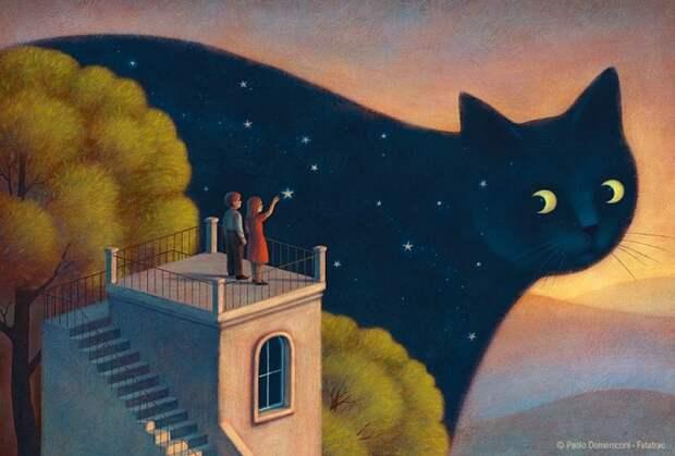 15 волшебных иллюстраций, в которых хочется затеряться