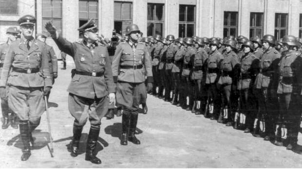Полиция порядка в Минске. Bundesarchiv