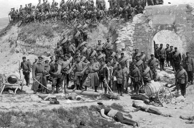 Вторая Балканская война 1913г.