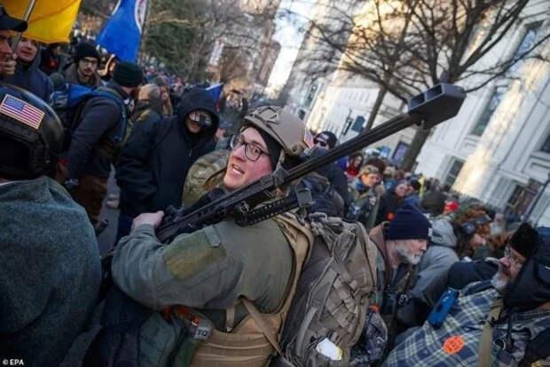 Гестаповская «демократия» Байдена