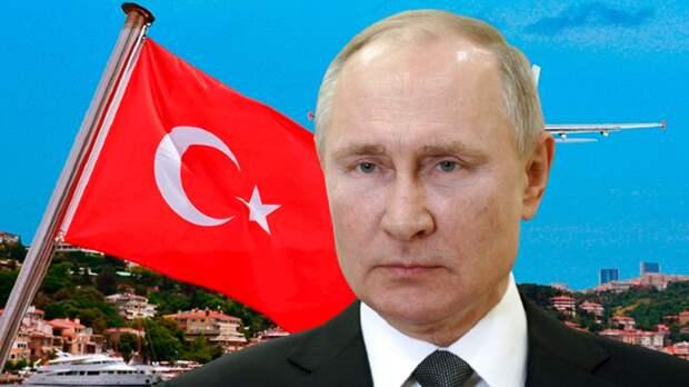 В Германии связали удар по туризму в Турции с «местью Путина», напомнив о санкциях