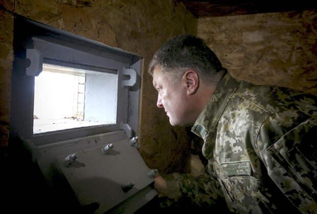 Петру Порошенко перспективы войны в Донбассе неочевидны