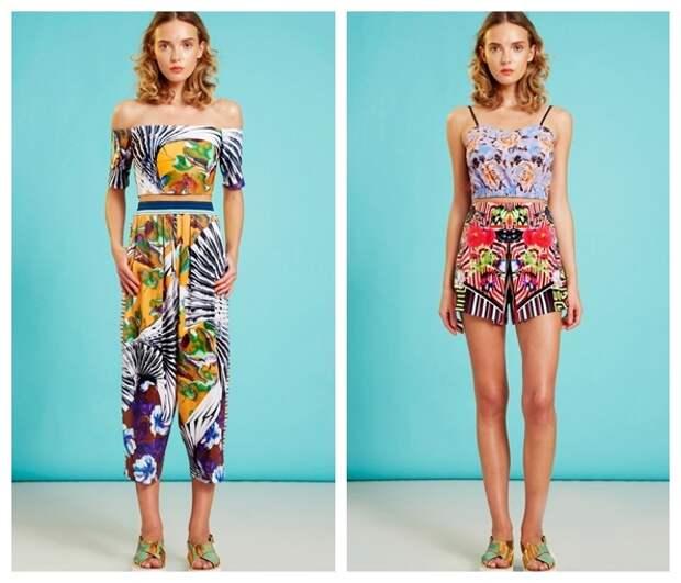 Яркая летняя одежда 2015